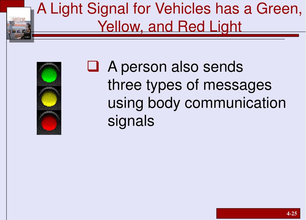 A Light Signal for Vehicles has a Green, Yellow, and Red Light