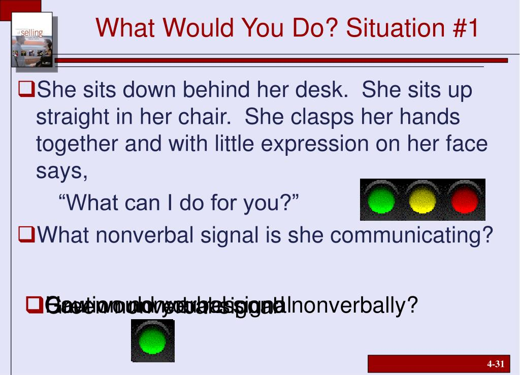 What Would You Do? Situation #1