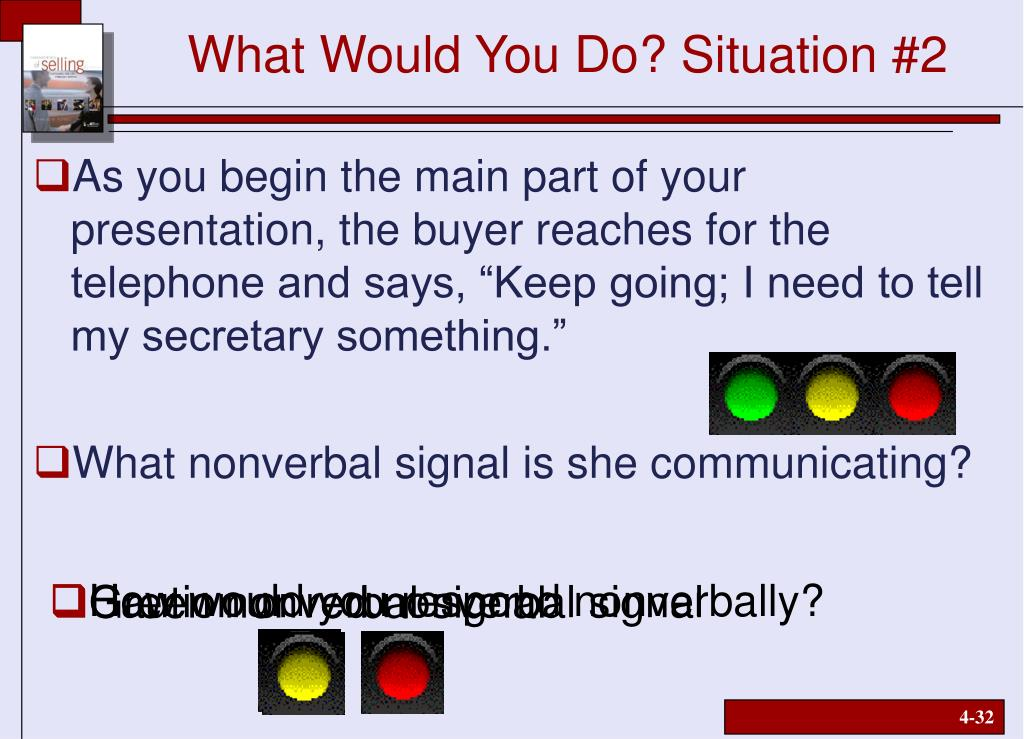 What Would You Do? Situation #2