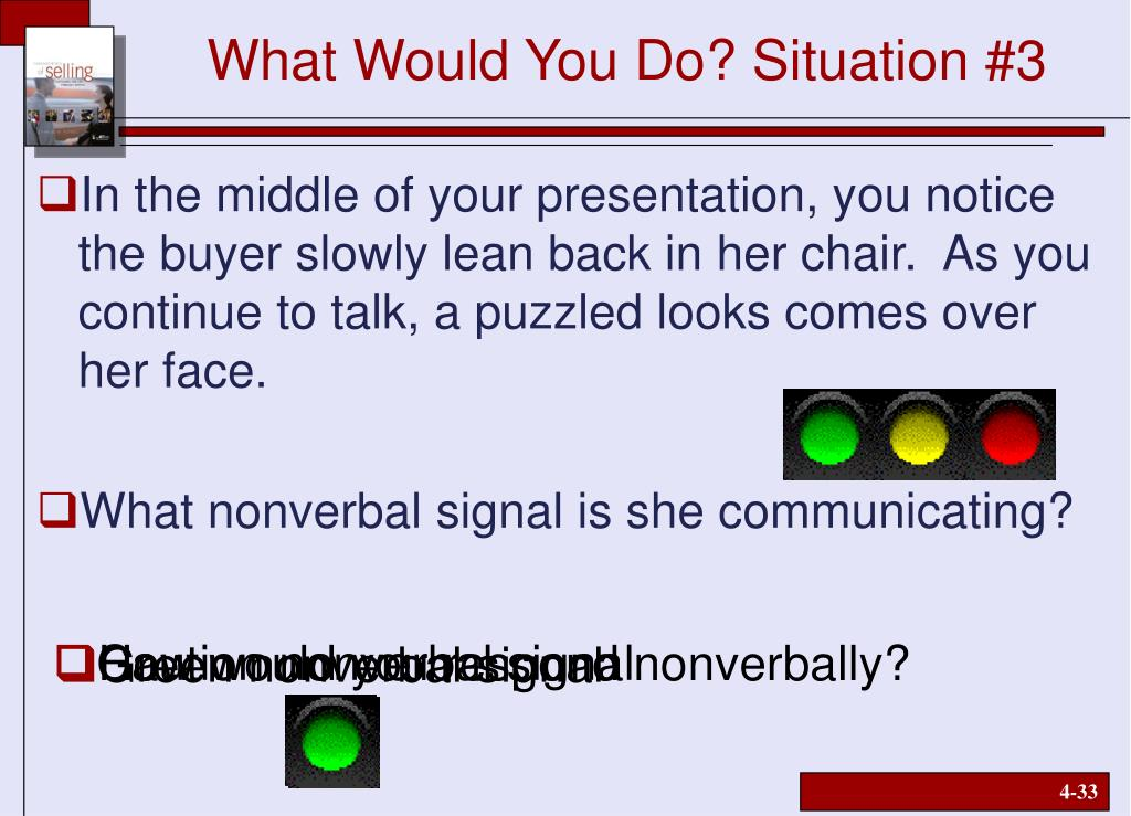 What Would You Do? Situation #3