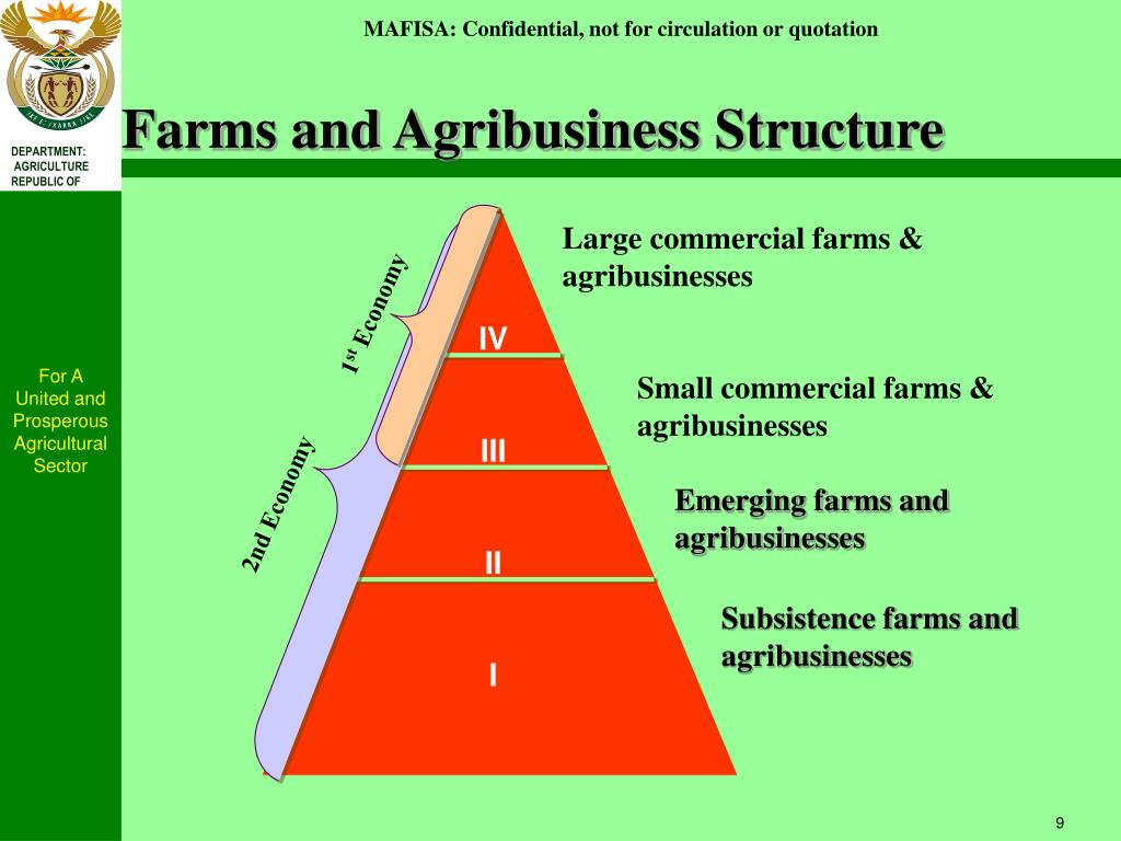 Farms and Agribusiness Structure