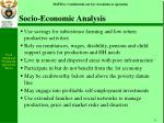 socio economic analysis11