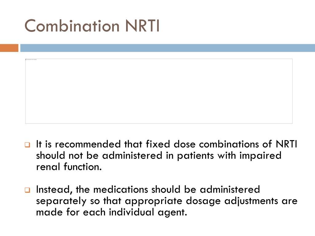 Combination NRTI
