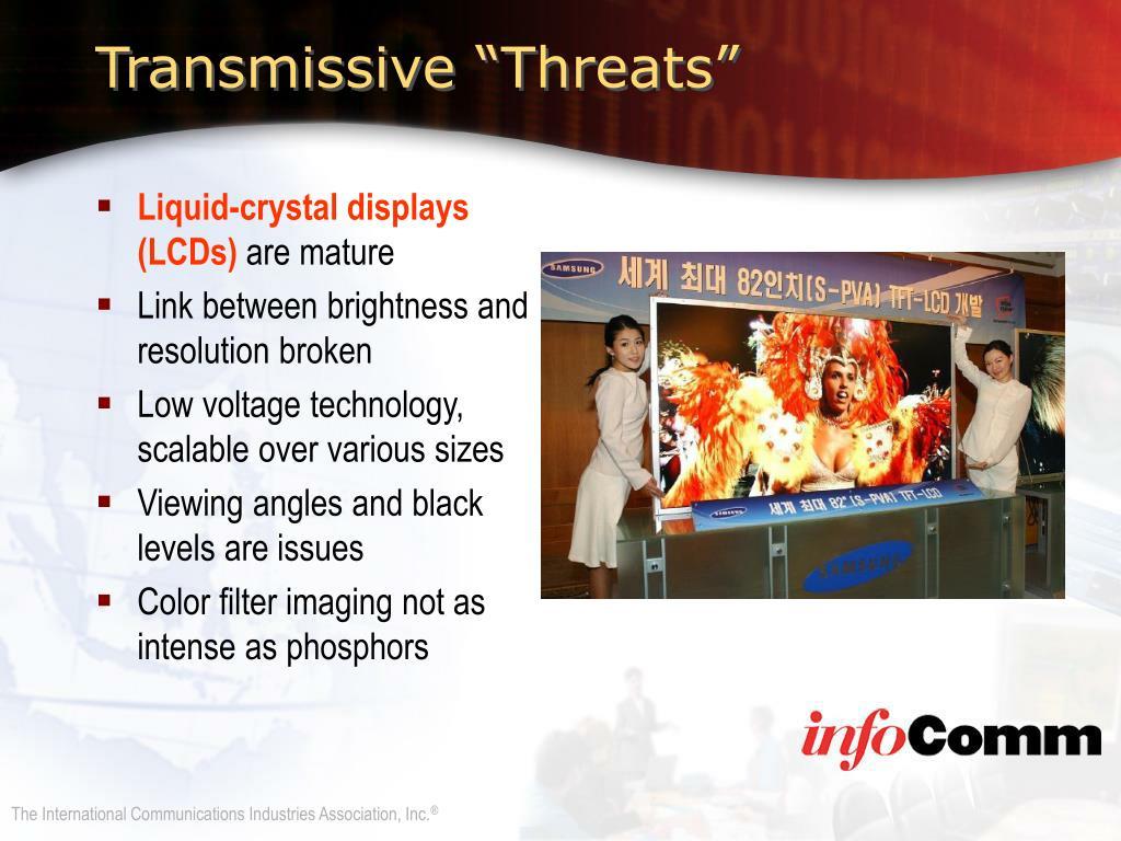 "Transmissive ""Threats"""