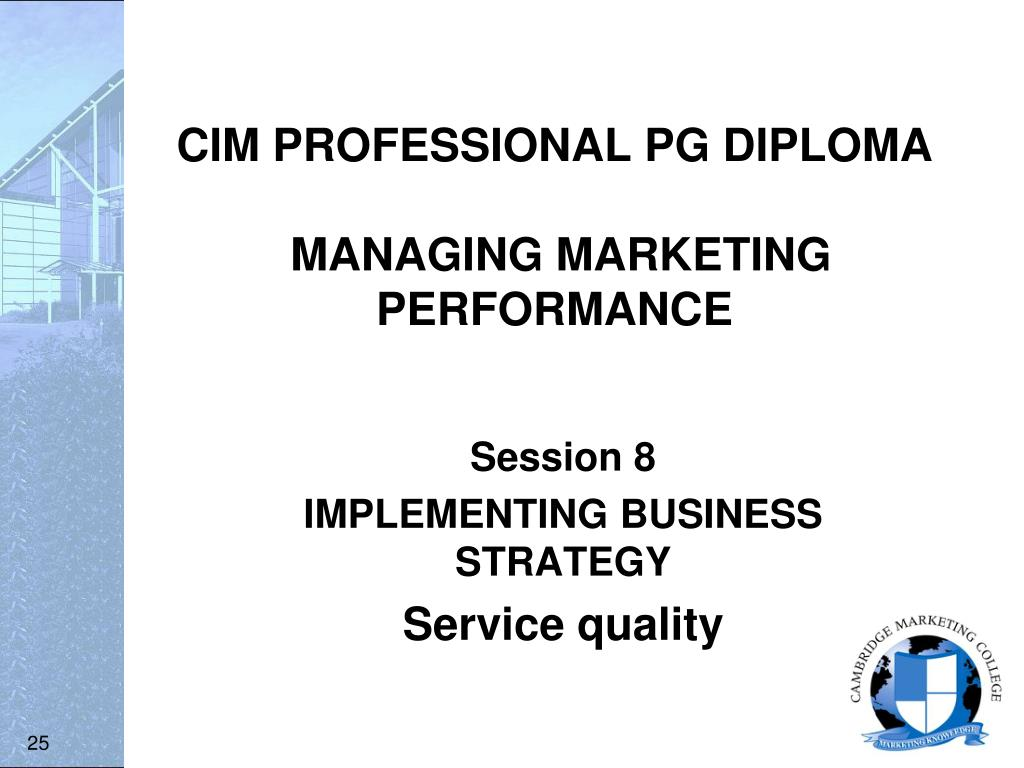 dcvtm cim professional diploma Develop your transitional skills and knowledge for strategic marketing  management, equipping you with the ability to work more cross functionally at a  senior.
