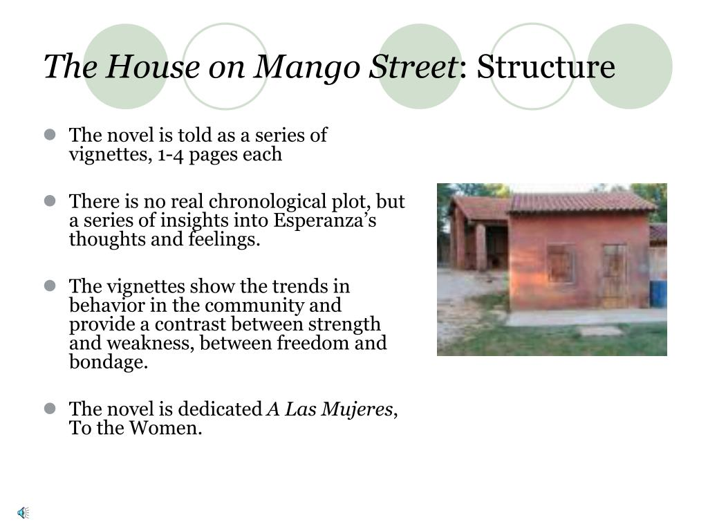 5 paragraph essay on the house on mango street Interpretive essay outline the house on mango street her first paragraph describes the hair of the narrator's father and the.