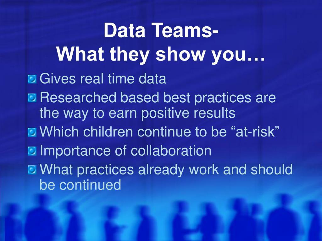 Data Teams-