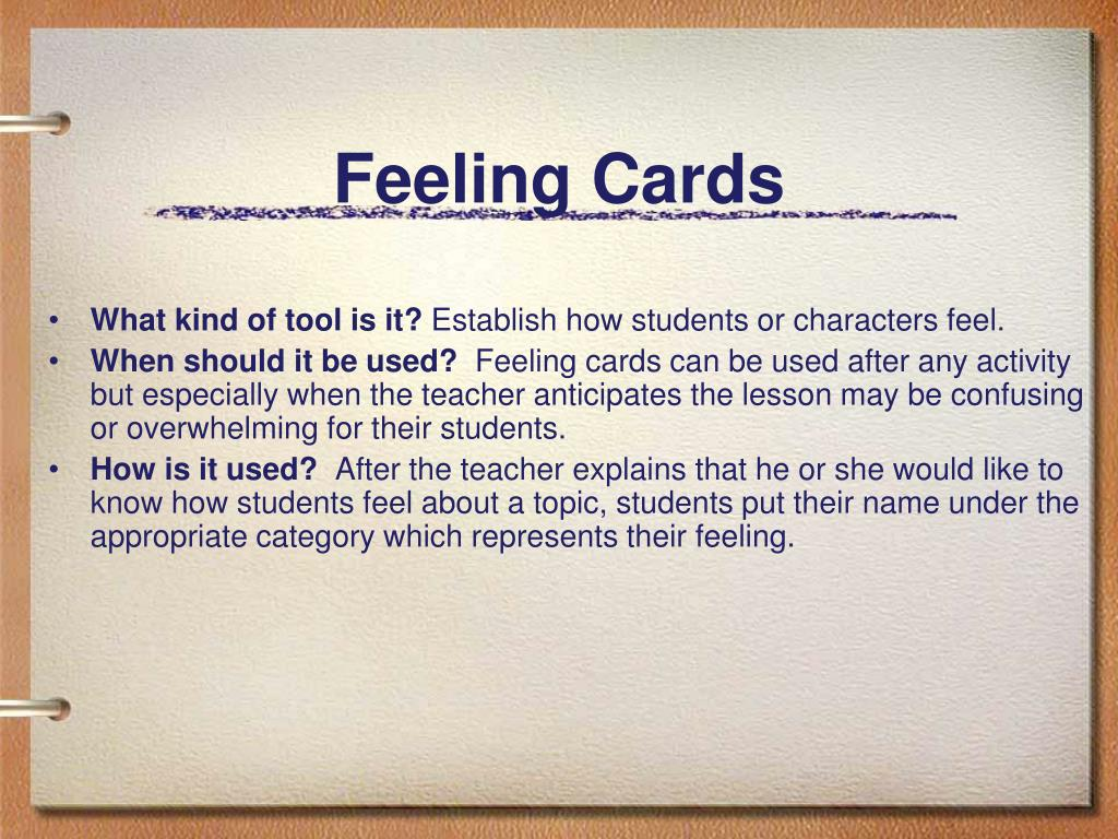 Feeling Cards