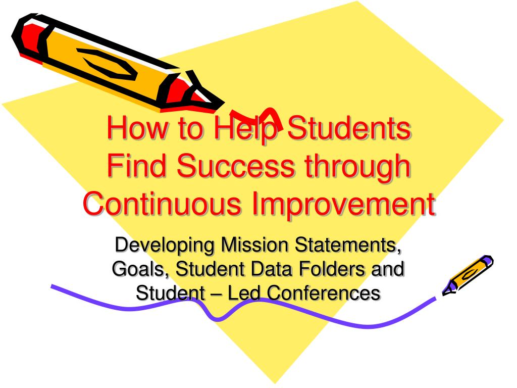 How to Help Students