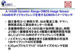 a 142db dynamic range cmos image sensor 142db cmos