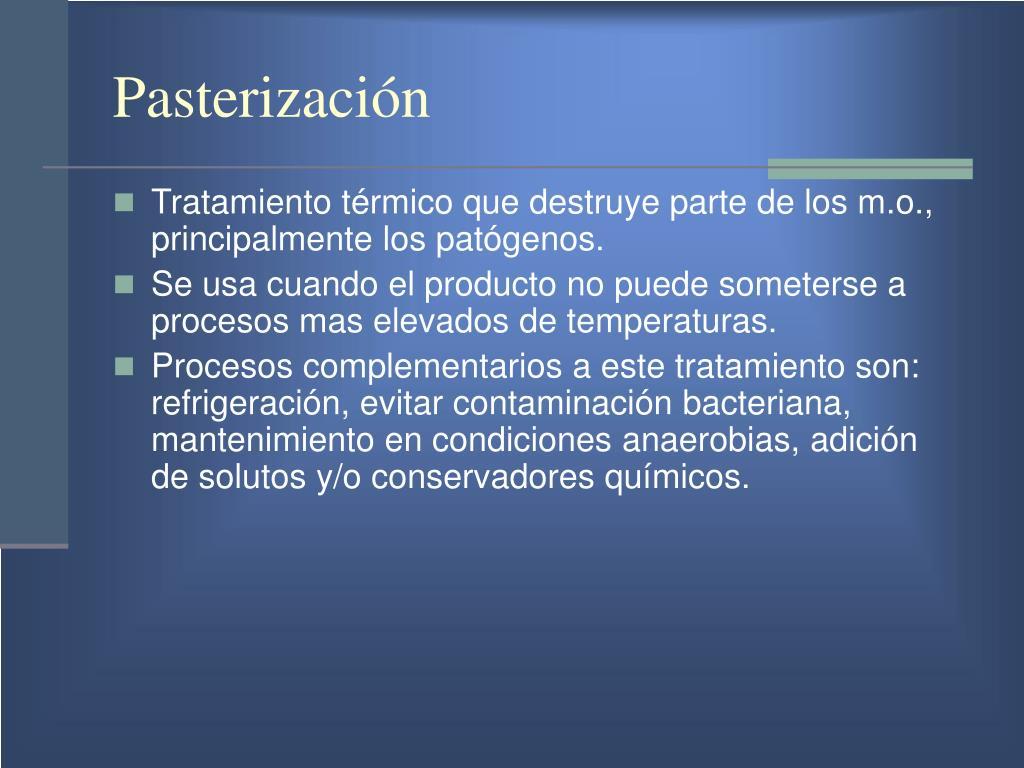 Pasterización