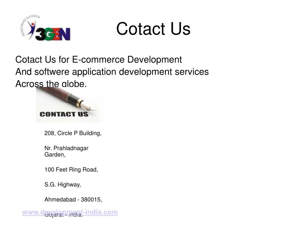 Cotact Us
