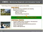 cmds monitoring diagnostic and simulation center
