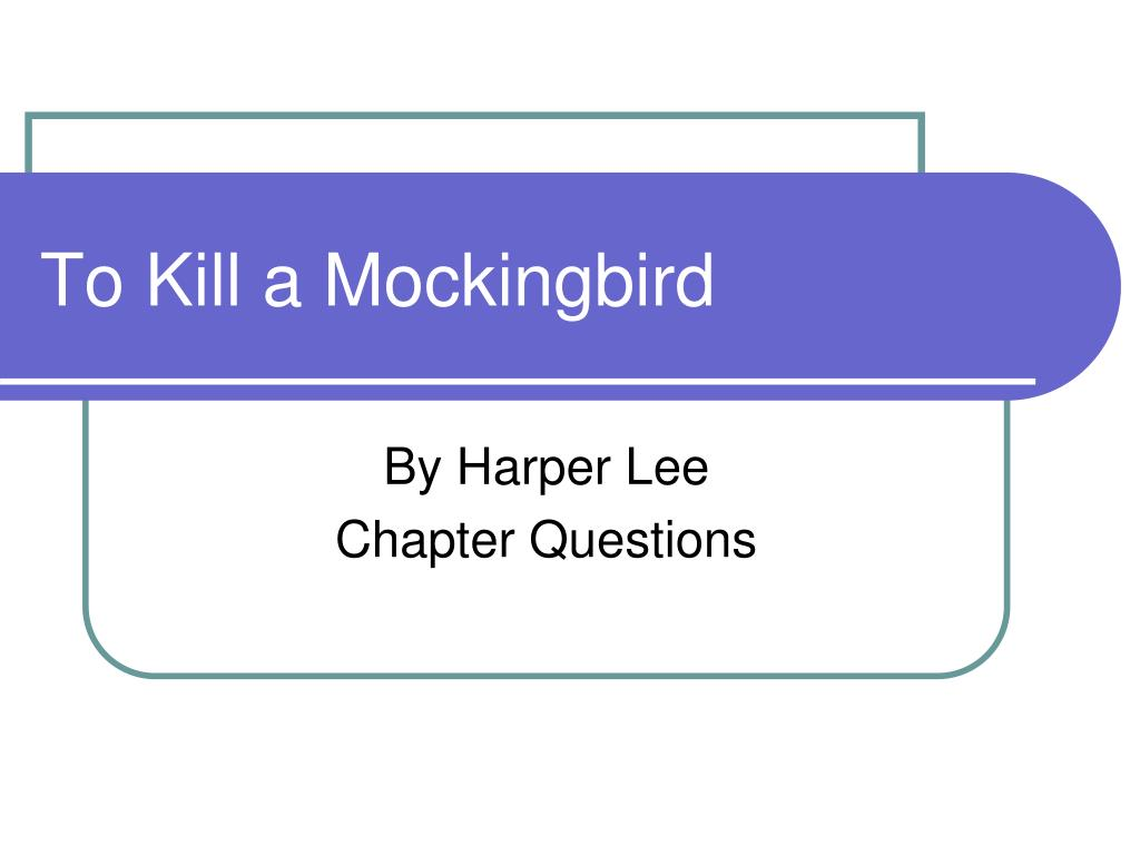 to kill a mockingbird identity Harper lee develops all four of these themes in her famous 1960 novel, to kill a mockingbird to help students understand these ideas, this lesson incorporates the blues and other literature of the time ultimately.