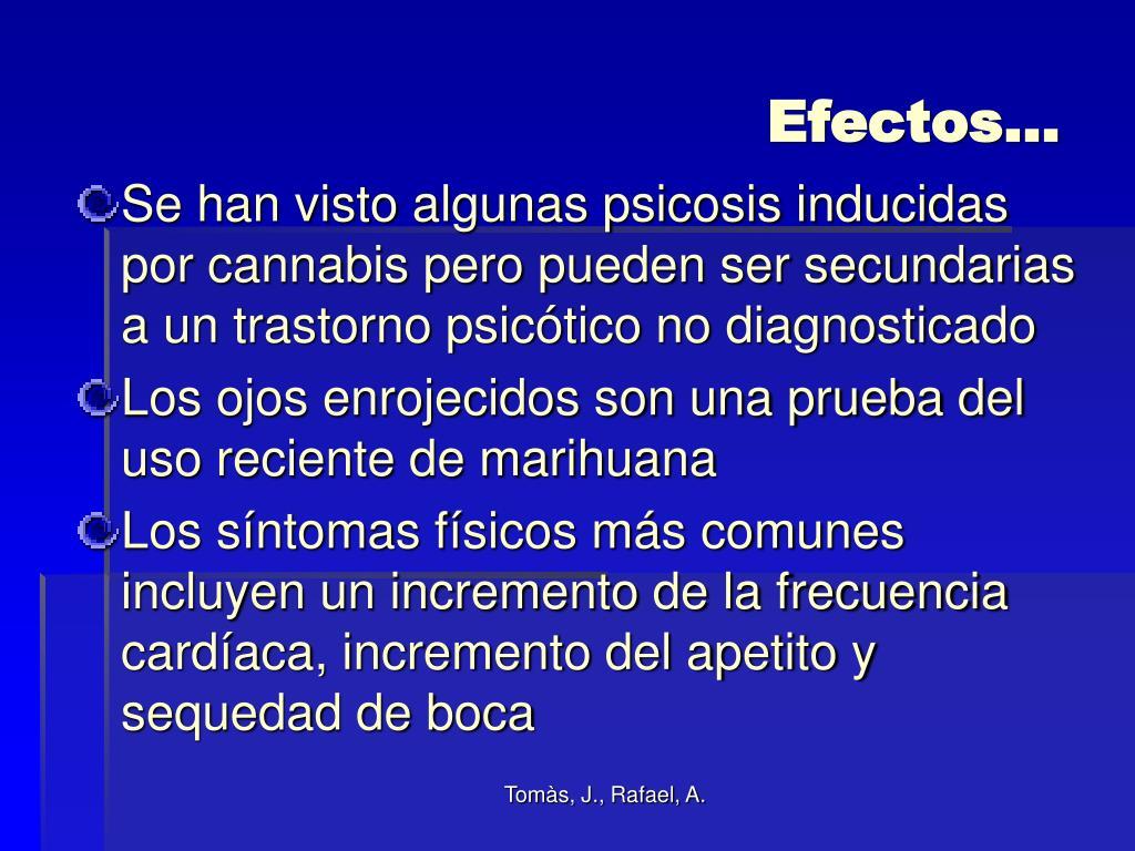 Efectos…