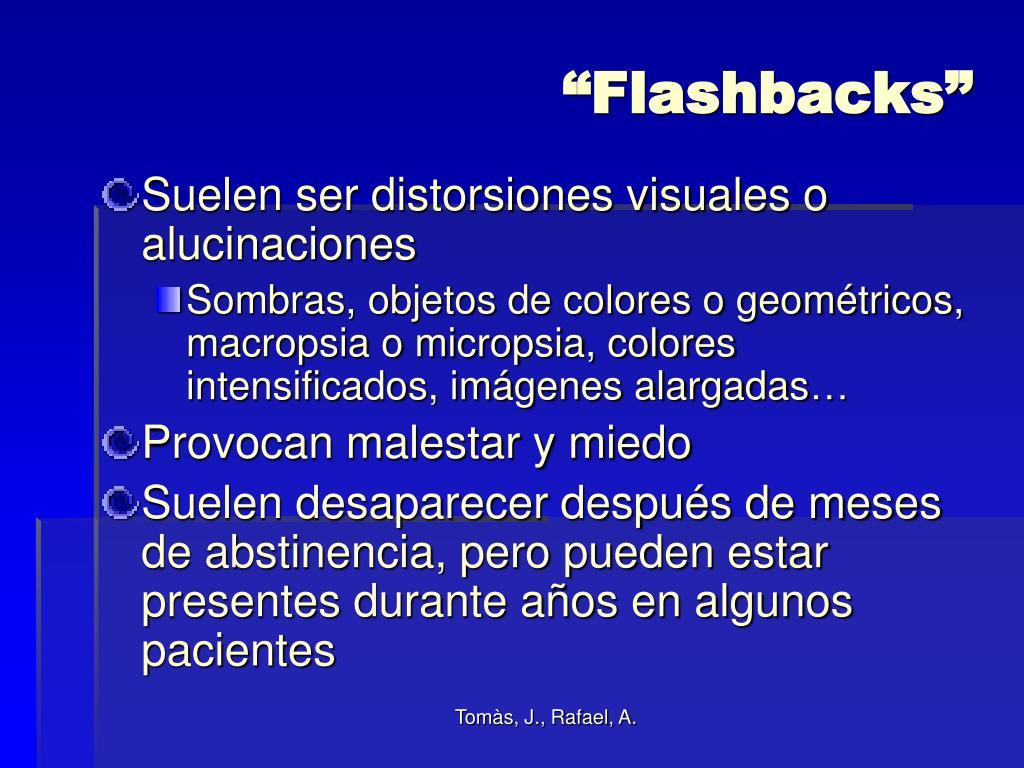 """Flashbacks"""