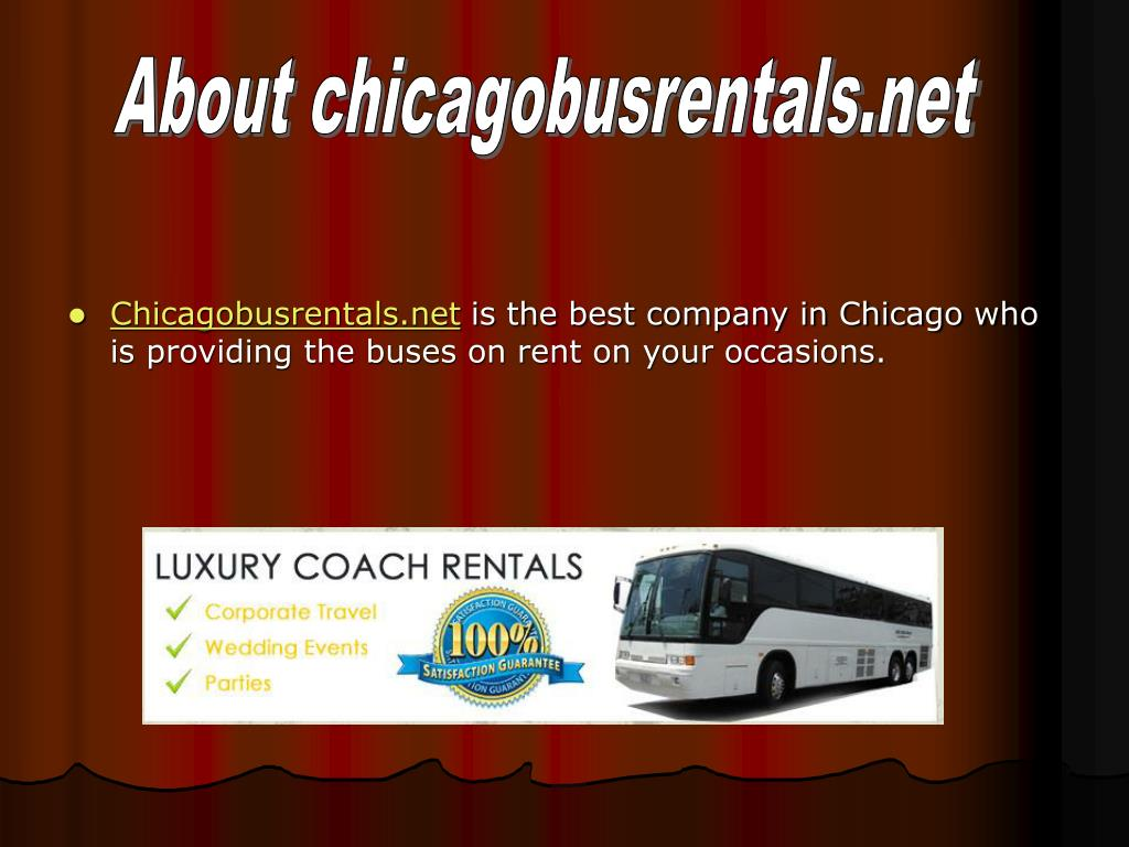 About chicagobusrentals.net