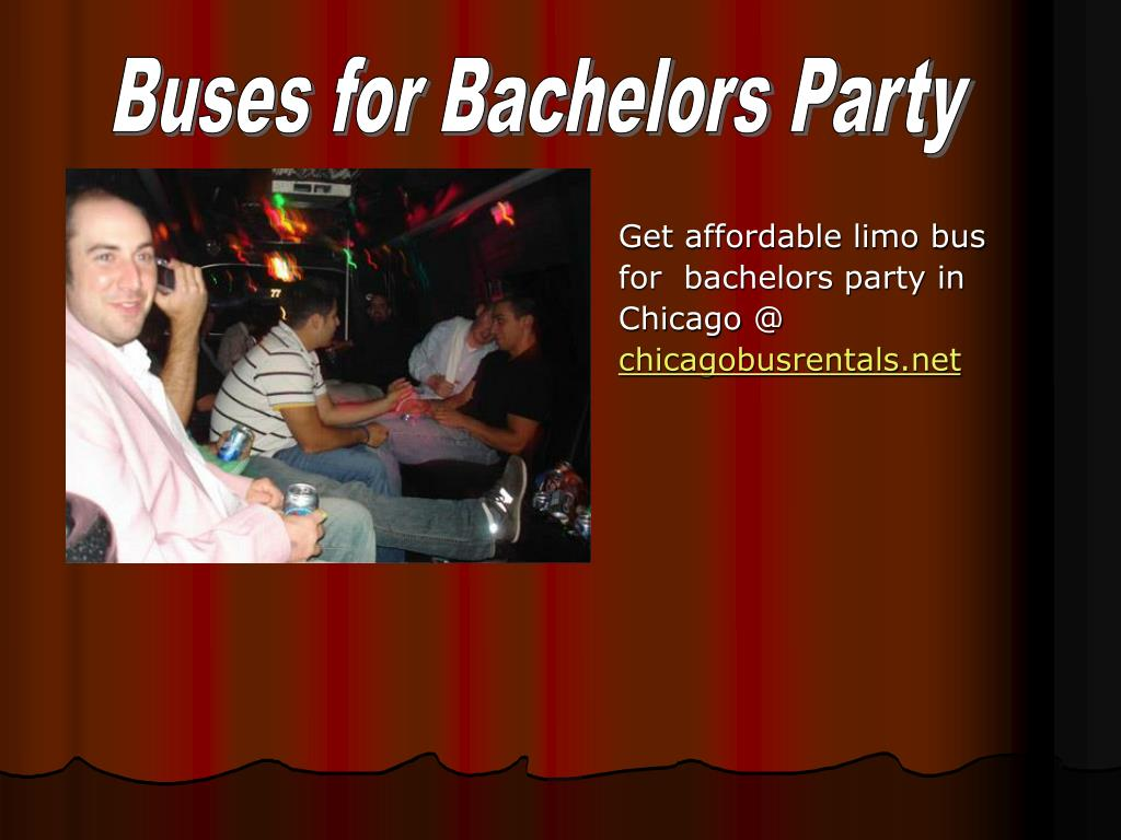Buses for Bachelors Party