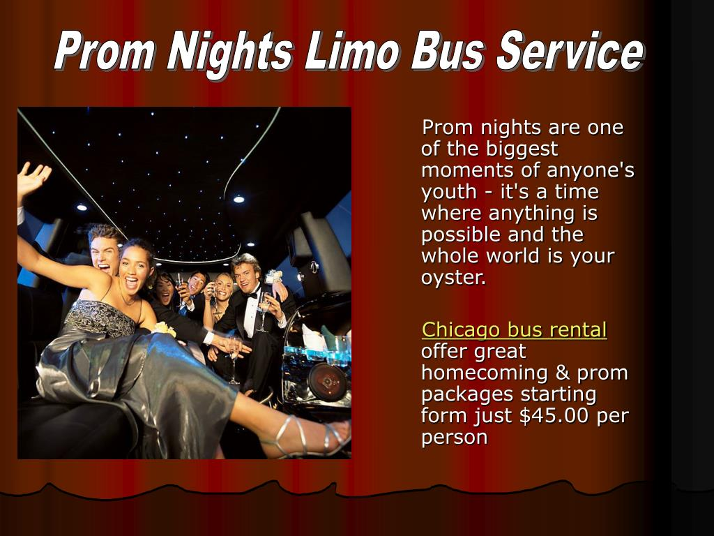 Prom Nights Limo Bus Service