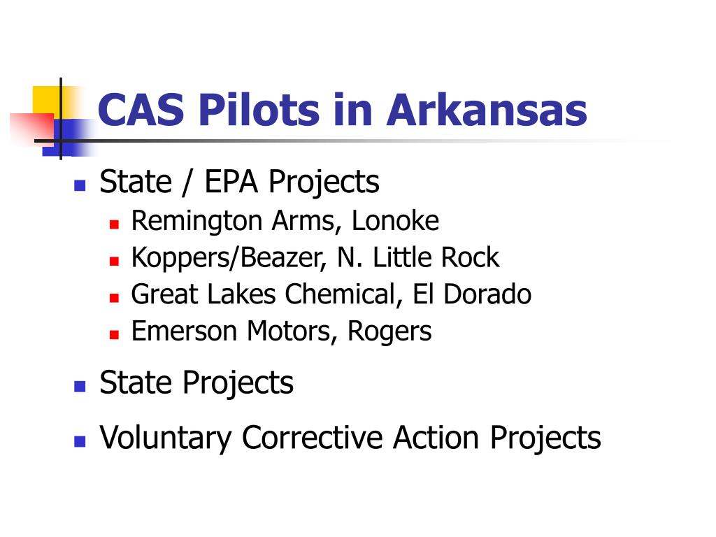 CAS Pilots in Arkansas
