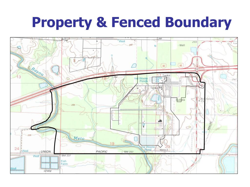 Property & Fenced Boundary