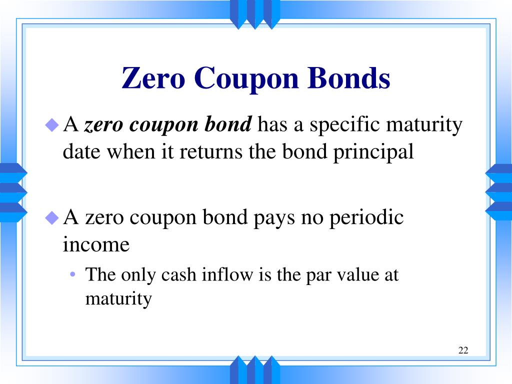 0 coupon bonds