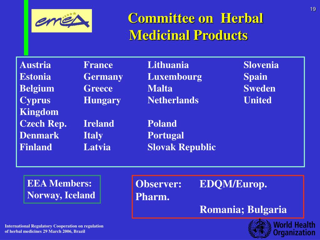 Committee on  Herbal