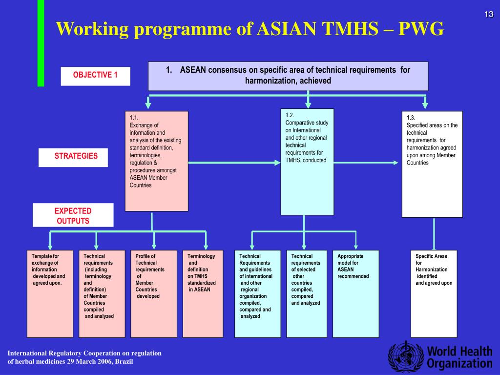 Working programme of ASIAN