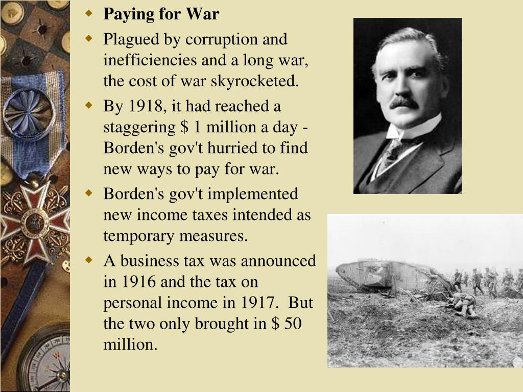 Paying for War