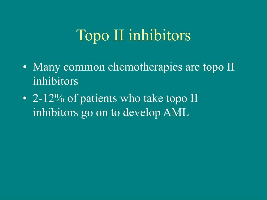 Topo II inhibitors