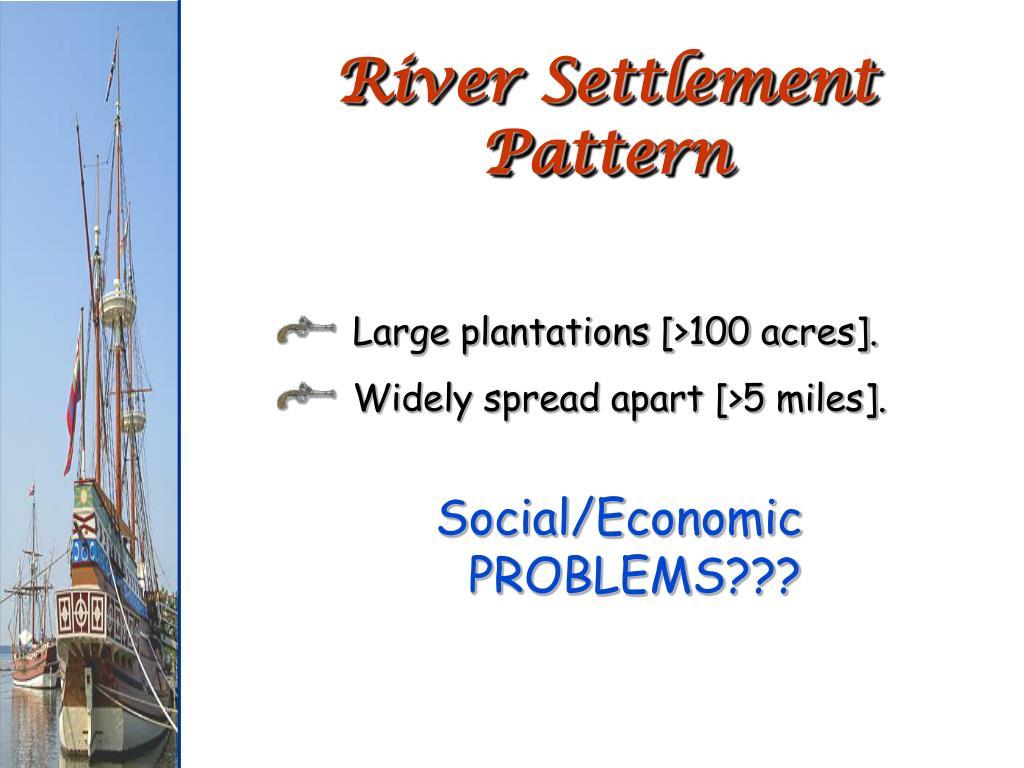 River Settlement Pattern
