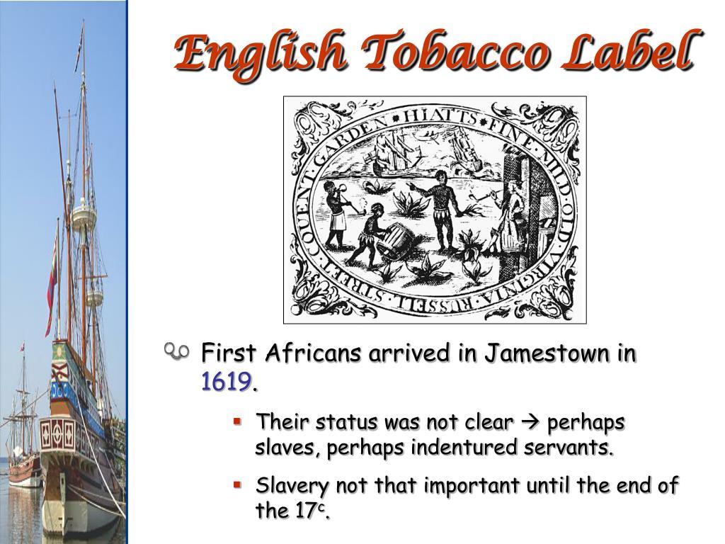 English Tobacco Label