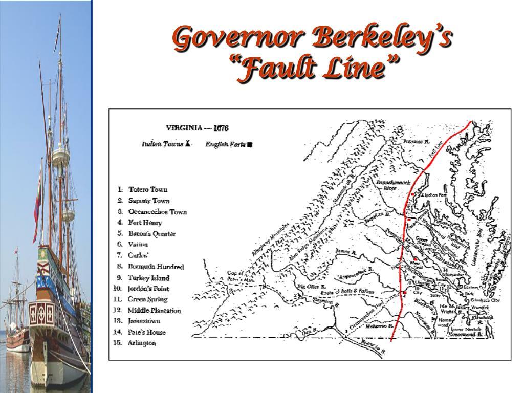 Governor Berkeley's