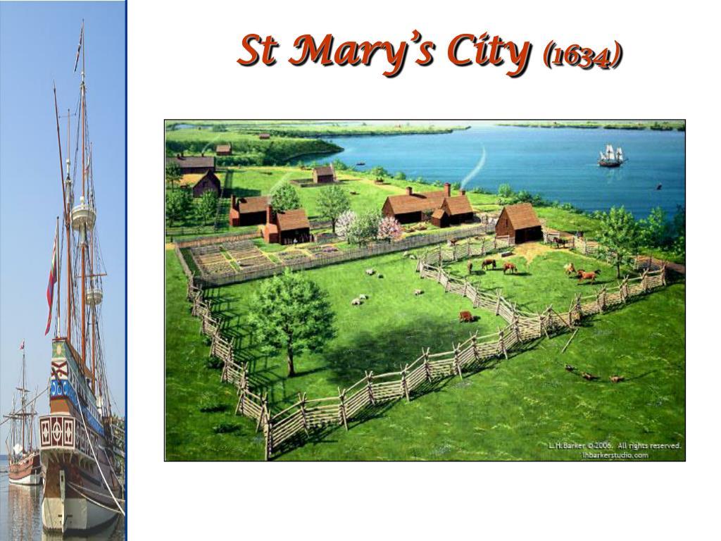 St Mary's City