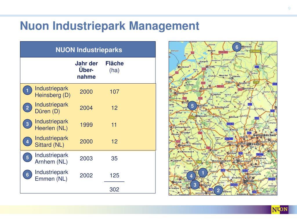 Nuon Industriepark Management