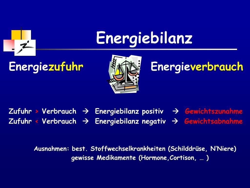Energiebilanz