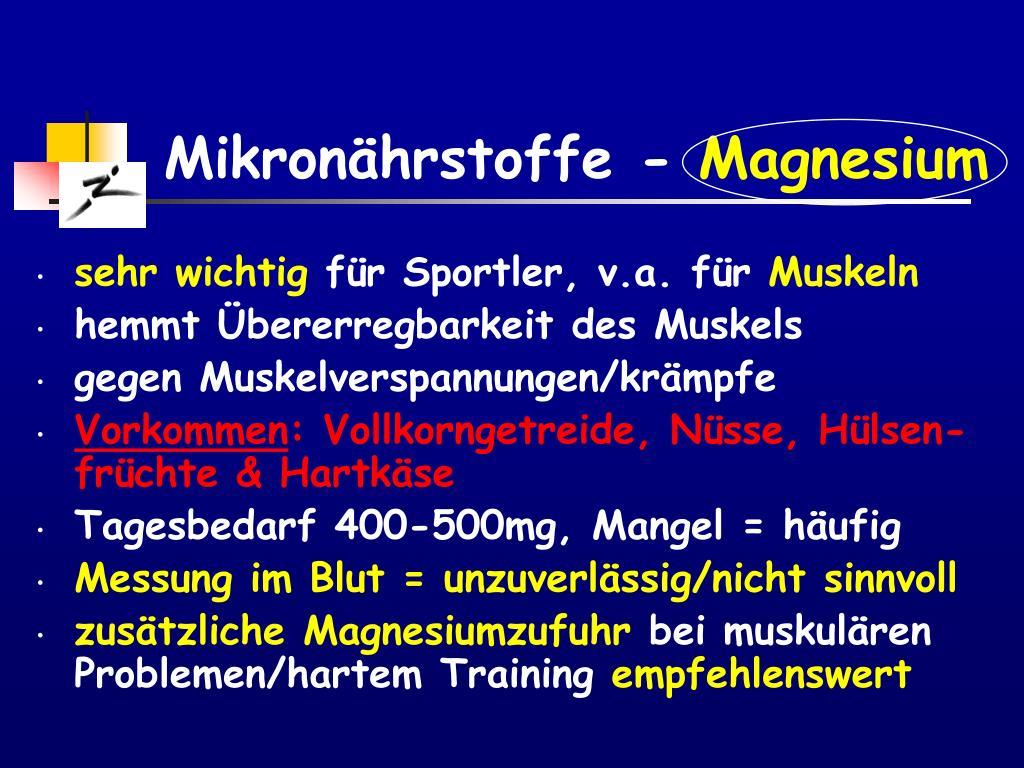 Mikronährstoffe -