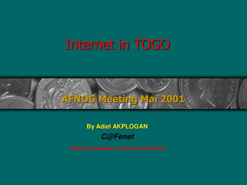 Internet in TOGO