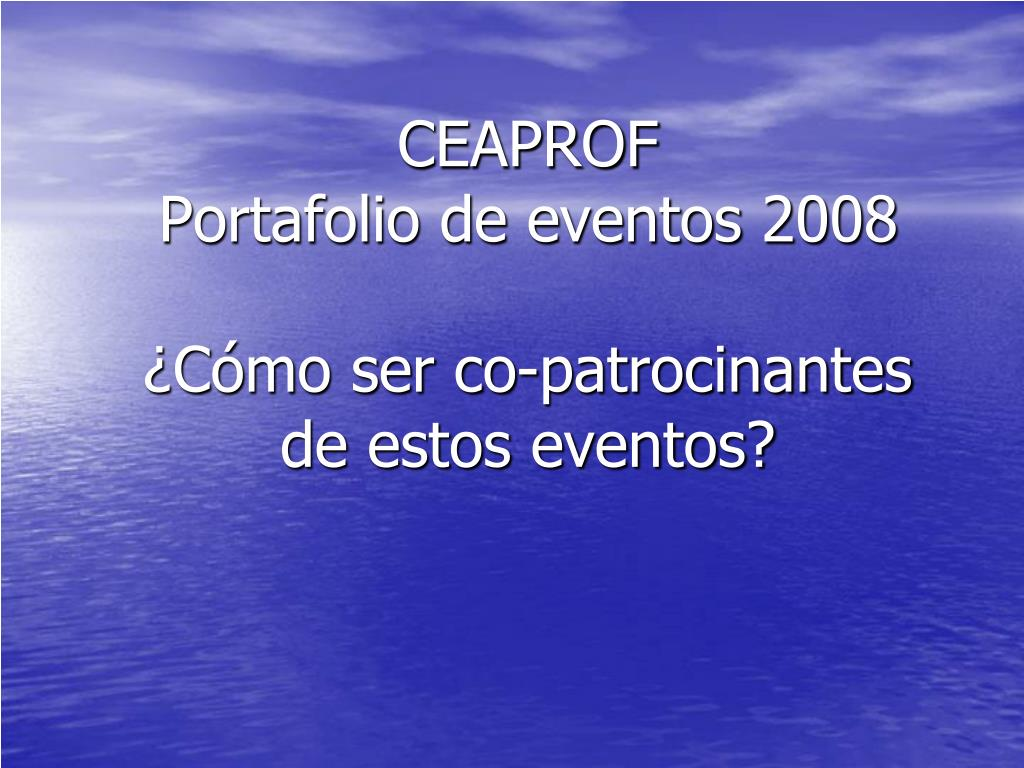 CEAPROF