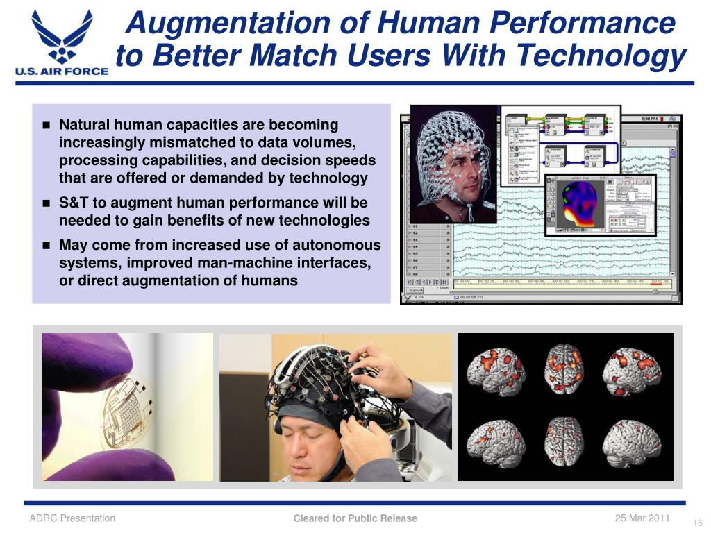 Augmentation of Human Performance to Better Match Users With Technology