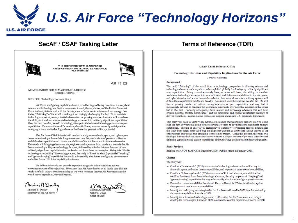 "U.S. Air Force ""Technology Horizons"""