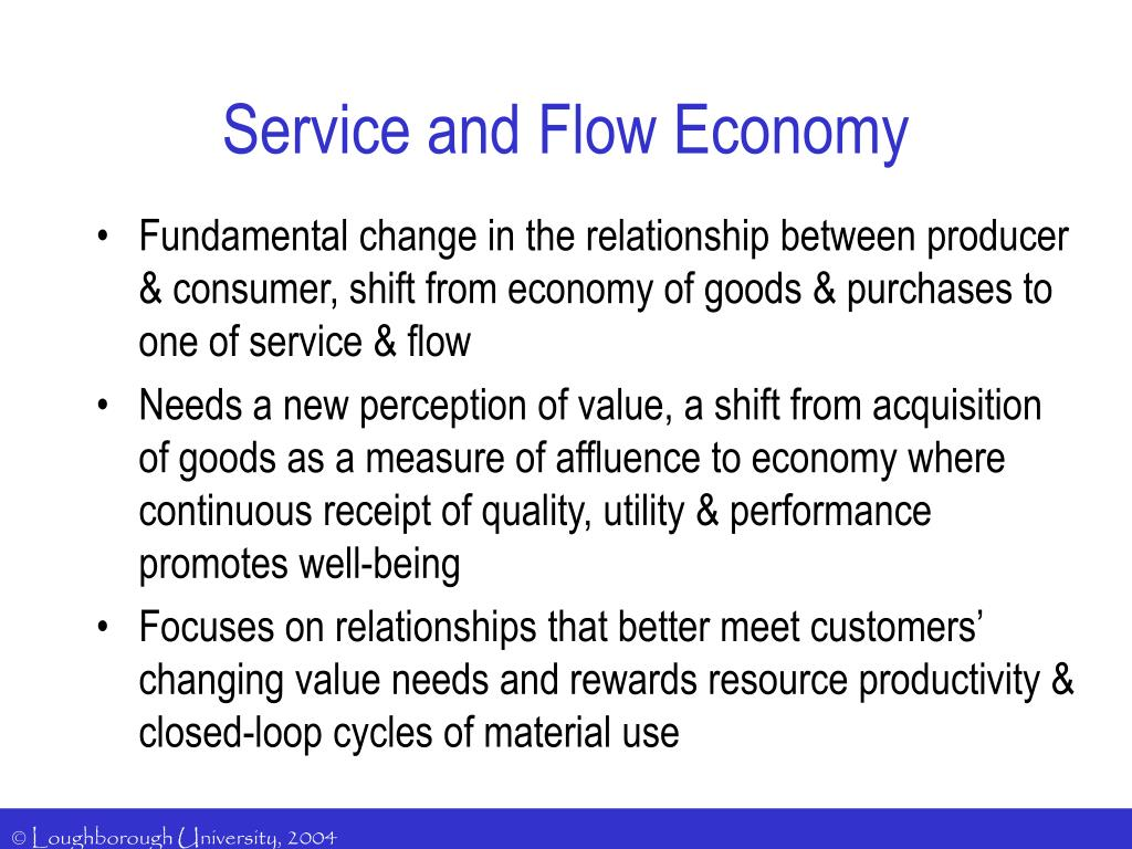 what is the relationship between capital goods and consumer