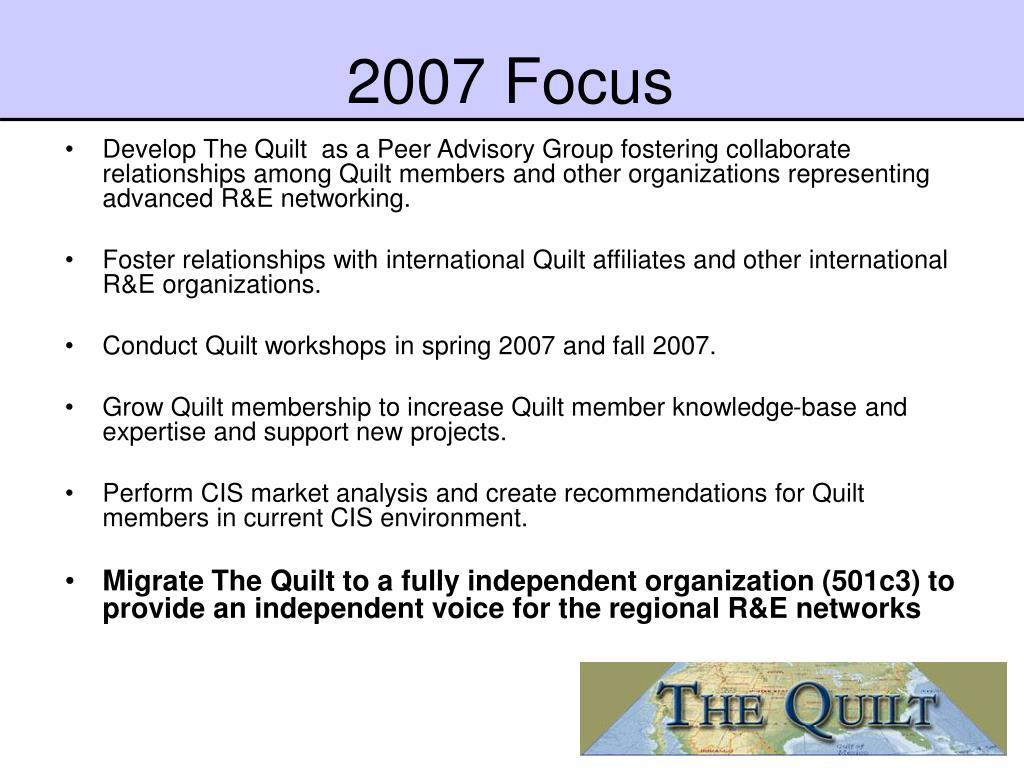 2007 Focus