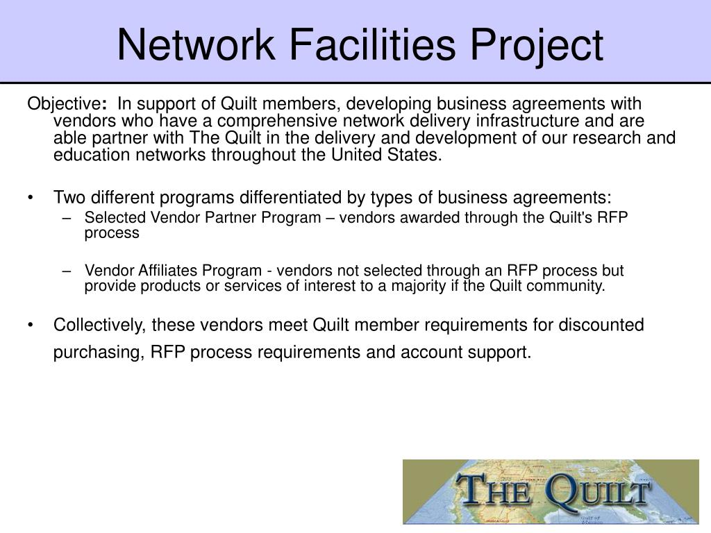 Network Facilities Project