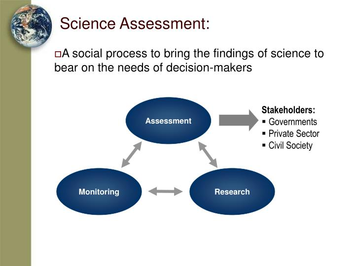 Science assessment
