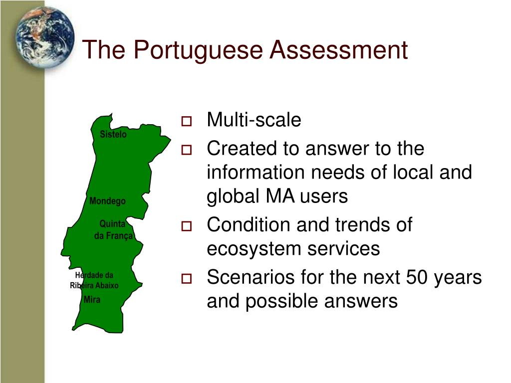 The Portuguese Assessment