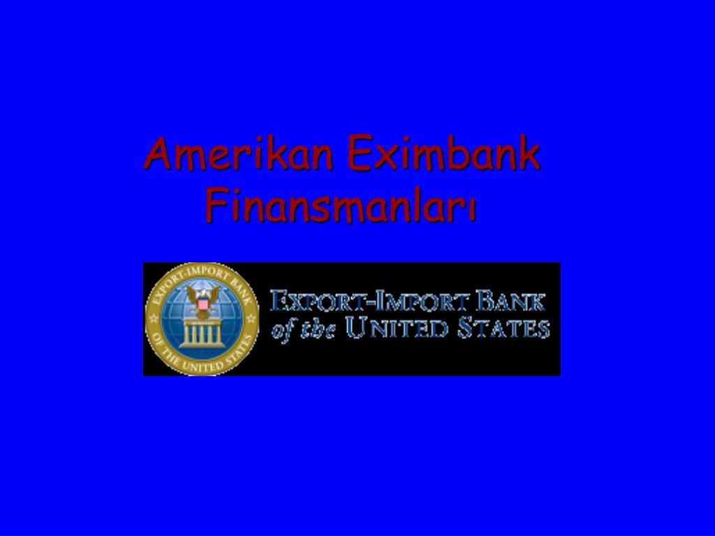 Amerikan Eximbank