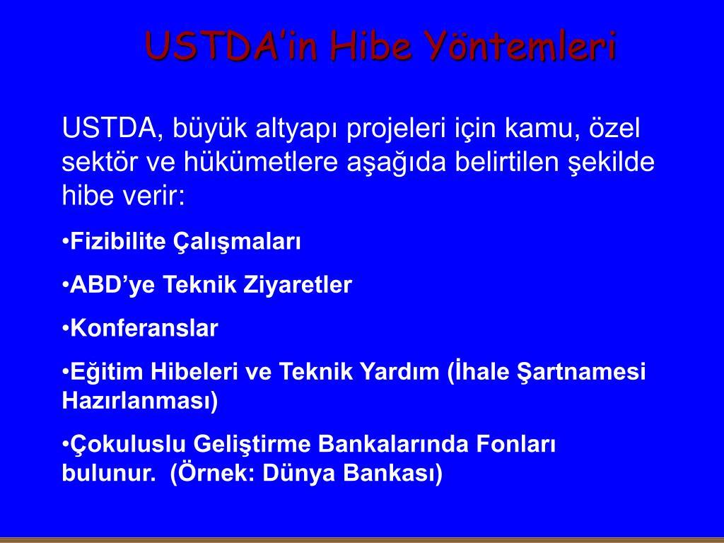 USTDA