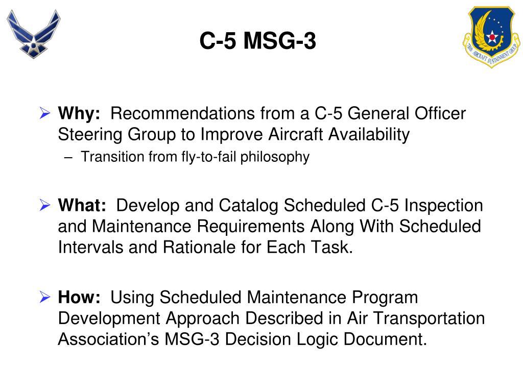 C-5 MSG-3