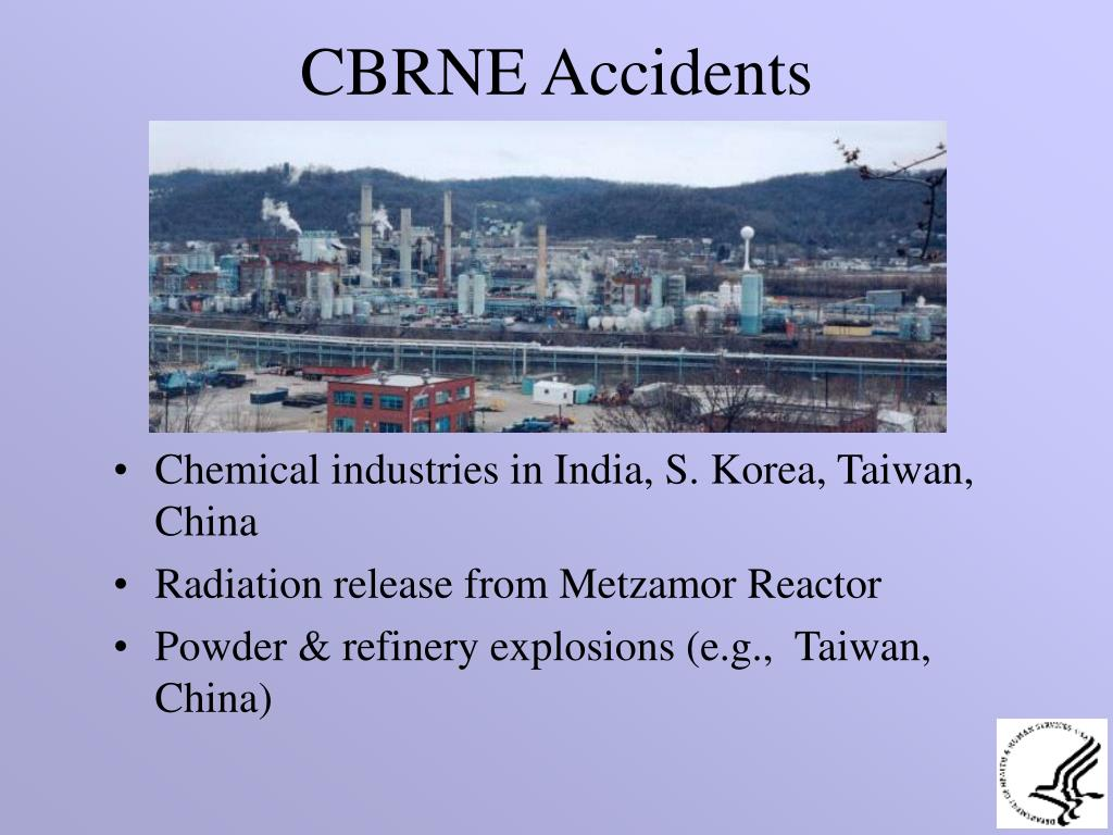 CBRNE Accidents